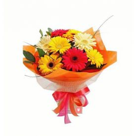 Bunch of mix gerberas
