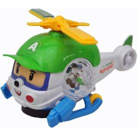 Electronic Cartoon Helicopter