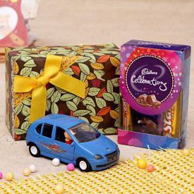 Indica Toy Car With Cadbury Celebration Chocolates