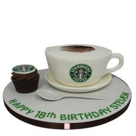 Coffee Cup design Cake