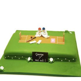 Cricket Ground design Cake