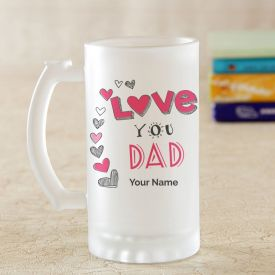 Classic Personalized Frosted Glass