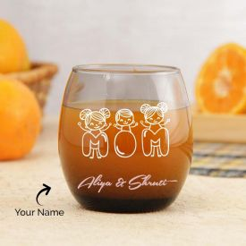 Classy Engraved Glass Personalized