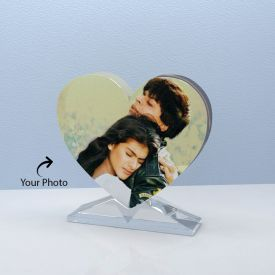 Personalized Heart Shape Crystal