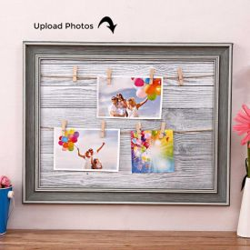 Personalized Clip-On Photo Frame