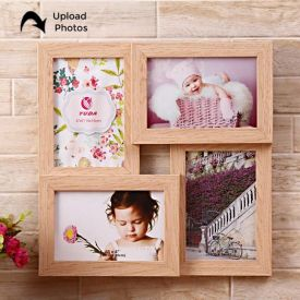 Wooden Personalized Collage Photo Frame