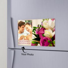 Lovely Memories Personalized Magnet.