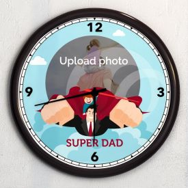 Adorable Personalized Wall Clock