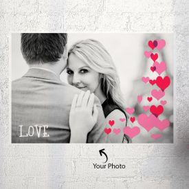 Attractive Poster Personalized With One Photo