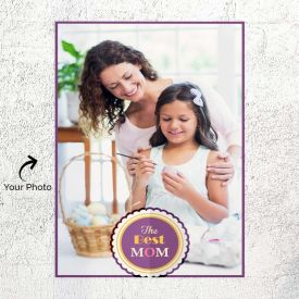 Purple Border Personalized Poster
