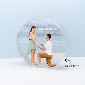 Beautiful Personalized Round Shape Crystal