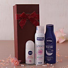 Nivea Roll On And Whitening Deo With Lotion