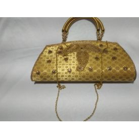 Awesome Bag With Pearls