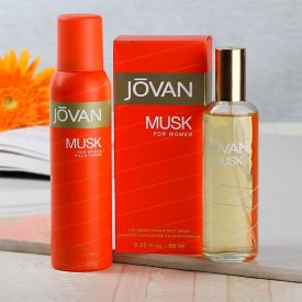 Jovan Musk Gift Set For Women