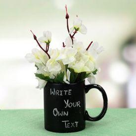 Your Words Mug And Plant