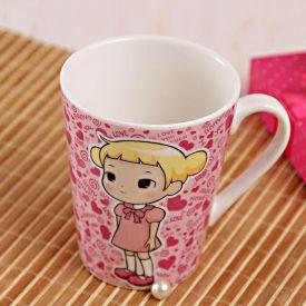 Adorable Pink Mug