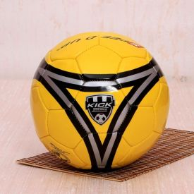 Kick Mania Yellow Football