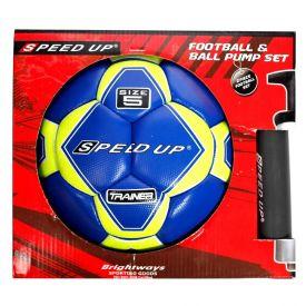 Football & Ball Pump Set
