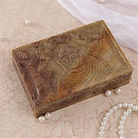 Buddha Embossed Jewelry Box