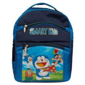 Arip Blue Doraemon Polyester School Bag