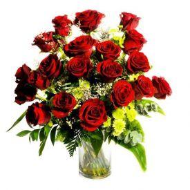 24 red roses lovely