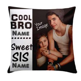 Brother N Sister Printed Cushion