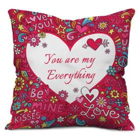 Valentine Gifts for Cushion Pink
