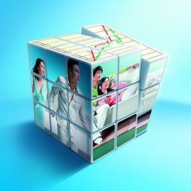 Personalized Custom Photo Magic Rubik Cube Puzzle Toy