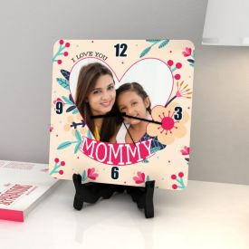 I'd pick you Personalized Birthday Square Clock