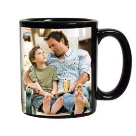 Black Personalized Coffee Mug