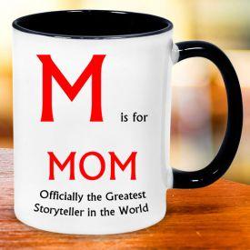 TRENDY WHITE MUG FOR MOM