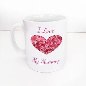 Superstar I Love Mum Mug
