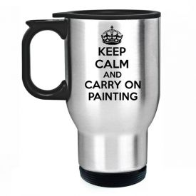 Keep Calm And Carry On Painting Travel