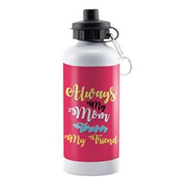 White Background Happy Mother's Day 600 Ml Water