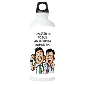 Tum Sath Ho To Sipper bottle