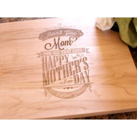 Thank you Mom personalized board