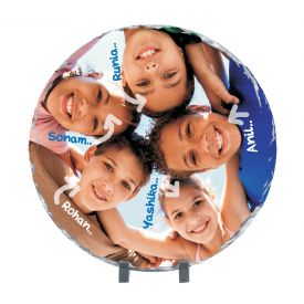 Round Shaped personalized Photo Stone