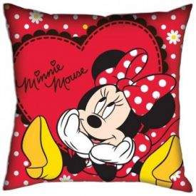 Mickey & Minnie Mouse Silk Cushion with fillers