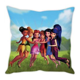 Tinker Bell with her friends Cushion