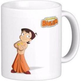 Exoctic silver chhota bheem Mug