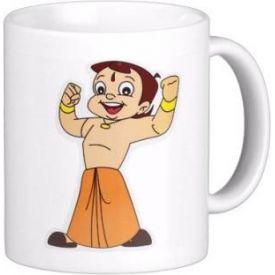 Chhota Bheem Mug- White