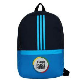 Blue Unisex Personalized Bag