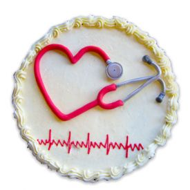 Doctors day cake