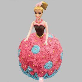 Dashing Barbie Cake