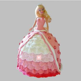 Style Queen Barbie Cake