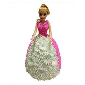 Nice Lovely Barbie Doll Cake