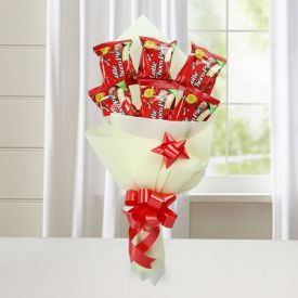 Unique Choco Pie Bouquet