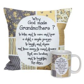 Mug N Cushion for Grandma