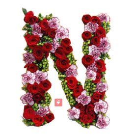 Alphabet Budding Love