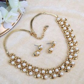 Gold-Plated Jewelry Set